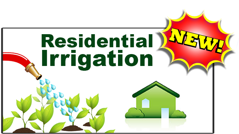 NowOfferingResidentialIrrigation